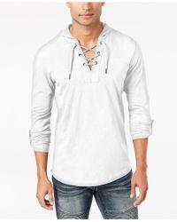 INC International Concepts - Men's Hooded T-shirt - Lyst