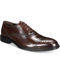 Kenneth Cole Reaction - Zac Leather Oxfords - Lyst