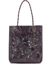 Patricia Nash - Burnished Tooled Cavo Tote - Lyst