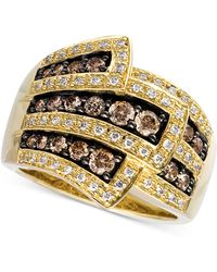 Le Vian - Chocolate Diamonds® Wrap Ring (1 Ct. T.w.) In 14k Gold - Lyst