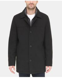 Tommy Hilfiger Walking Coat, Created For Macy's - Black