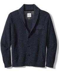 Tommy Bahama Sea Captain Cardigan Sweater - Blue