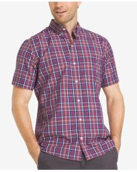 Izod - Men's Saltwater Breeze Coolfx Shirt - Lyst