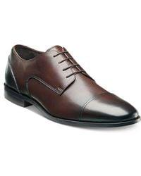 Florsheim - Shoes, Jet Cap Toe Lace-up Shoes - Lyst