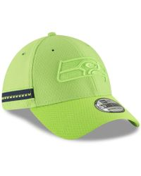 fc409f619 KTZ 39thirty Official Sideline Home Stretch Fit - Seattle Seahawks  (blue/grey) Caps in Blue for Men - Save 25% - Lyst