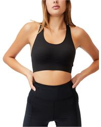 Cotton On All Day Comfort Crop Top - Black