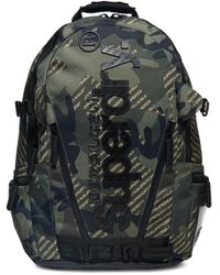 Superdry Tarp Camo Backpack - Green