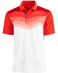 Greg Norman - Malden Ombré Stripe Performance Polo, Created For Macy's - Lyst