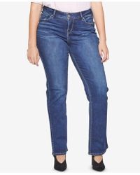 Silver Jeans Co. - Plus Size Avery Slim Boot-cut Jeans - Lyst