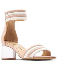 Katy Perry - Sierra Lucite Heel Dress Sandals - Lyst