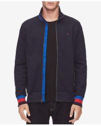 Calvin Klein - Full-zip Sweater - Lyst