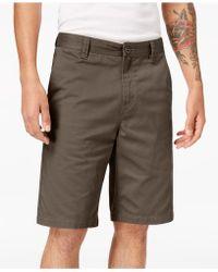 Volcom - Men's Finished-hem Shorts - Lyst