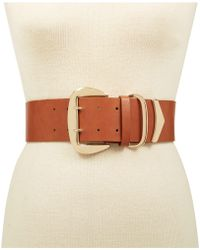 INC International Concepts - Oversized-buckle Stretch Belt, Created For Macy's - Lyst