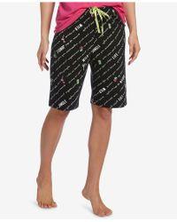 Hue - ® Logo-drawstring Bermuda Pyjama Shorts - Lyst