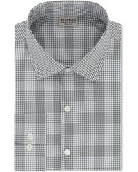 Kenneth Cole Reaction - Slim-fit Check Dress Shirt - Lyst