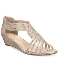 Charter Club Ginifur Wedge Sandals, Created For Macy's - Multicolor
