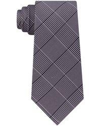 Michael Kors - Plaid Silk Tie - Lyst