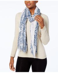 Steve Madden - Urban Reptile Wrap & Scarf In One - Lyst
