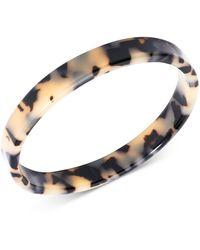 Zenzii Tortoise-look Bangle Bracelet - Metallic