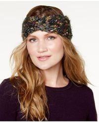 Steve Madden - Chunky Confetti-knit Headband - Lyst