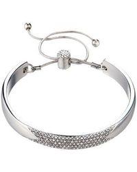 Nicole Miller Cuff Slider Bracelet - Metallic