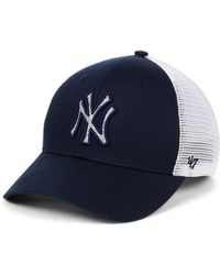 timeless design authorized site new high 47 Brand Toronto Maple Leafs Sophomore Franchise Cap in Gray/Navy ...