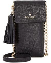 Kate Spade - North South Iphone 6/6 Plus/7/7 Plus/8 Mini Crossbody - Lyst