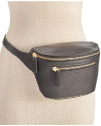CALVIN KLEIN 205W39NYC - Pebble Leather Belt Bag - Lyst