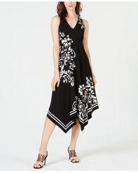 INC International Concepts - I.n.c. Hanky-hem Printed Dress, Created For Macy's - Lyst