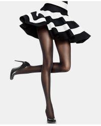 Hanes Control-top Sheer Tights - Black