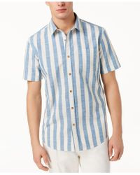 American Rag - Brock Striped Shirt, Created For Macy's - Lyst