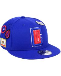 big sale 4da6a dcbf4 KTZ Golden State Warriors City On-court 59fifty Fitted Cap in Blue for Men  - Lyst