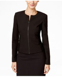Calvin Klein | Zip-front Side-panel Jacket | Lyst