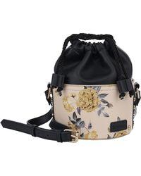 Kensie Fashion Drawstring Bucket Bag - Multicolor
