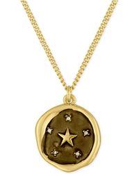 RACHEL Rachel Roy - Gold-tone Star Pendant Necklace - Lyst