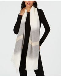 Eileen Fisher - Alpaca Striped Scarf - Lyst