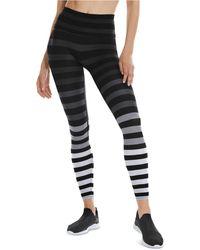 K-DEER Striped 7/8-sneaker-length Leggings - Multicolor