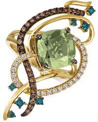 Le Vian - Exotics® Crazy Collection® Mint Julep Quartztm (3-1/4 Ct. T.w.) & Diamond (3/4 Ct. T.w.) Statement Ring In 14k Gold - Lyst