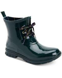 Charter Club Traynor Rain Booties, Created For Macy's - Green