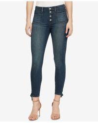 William Rast - High-waisted Skinny Jeans - Lyst