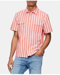 Calvin Klein - Stripe Shirt - Lyst