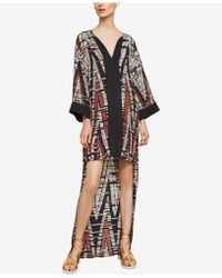 BCBGMAXAZRIA - Printed High-low Dress - Lyst