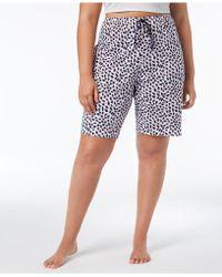 Hue - ® Plus Size House-print Bermuda Pajama Shorts - Lyst