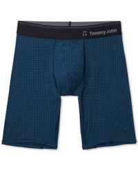 Tommy John - Second Skin Hawthorne Printed Boxer Briefs - Lyst