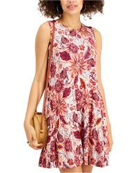 Style & Co. - Petite Printed Flip Flop Dress, Created For Macy's - Lyst