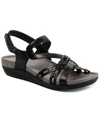 BareTraps Jewel Sling Back Sandals - Black