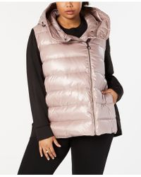 Calvin Klein - Performance Plus Size Quilted Hooded Down Jacket - Lyst