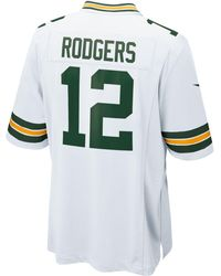 Nike - Men's Aaron Rodgers Green Bay Packers Game Jersey - Lyst
