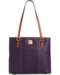 Dooney & Bourke - Pebble Leather Lexington Shopper - Lyst