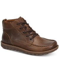 Born Gilden Leather Boot - Brown